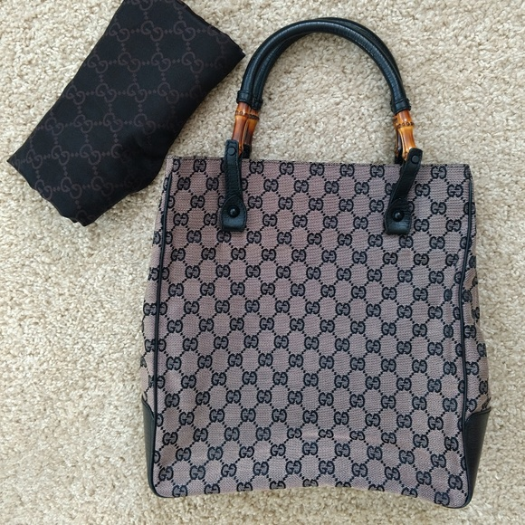 006e133a3cdd Gucci Handbags - Pre-owned Vintage Gucci Tote Handbag Shopper Bag